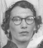 Ma tante, Jeannette Chabot, fille de Marie-Éva Boulet et d'Arthur Chabot.