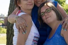 Éliane Tremblay, Clémence Beaumont et Émilie Tremblay